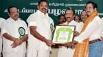 Cinema Pro Nellai Sundararajan Receives Kalaimamani Award From Cm