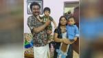 Bigg Boss Tamil3 Chithappu Saravanan Meets Lala Sandy Master Family