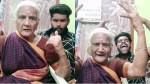 A Granny Doing Dubsmash For Bigil Trailer