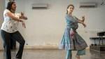 Kangana Practice Barathnatyam With Bigboss Fame Gayathri Raghuram