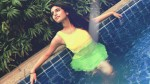 Priya Varrier Shares Her Swimming Photo In Her Instagram Page