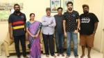 சத்யராஜுடன் மீண்டும் இணையும் சிபிராஜ் - காமெடி திரில்லர் படம்