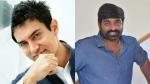 பாலிவுட்டில்  ஆர்வம் காட்டும் விஜய் சேதுபதி - அமீர்கானுடன் இணைகிறார்