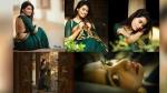 சைலண்ட் படங்கள்... வயலண்ட் பொண்ணு - கவர்ச்சி காட்டும் சாய் பிரியங்கா ருத்