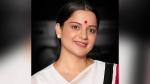 கட்சி பார்டர் போட்ட சேலையுடன்... 'தலைவி' 2 வது லுக்... இதில் எப்படி இருக்கிறார் 'அம்மா' கங்கனா?
