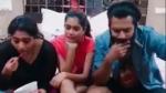போக்கிரி உப்மா ஃபேமிலி காமெடி.. மாஸ்டர் நடிகர் மனைவியுடன் ரகளை பண்ணும் டிக் டாக் வீடியோ!