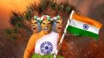 தொப்புள் கொடியை போலவே வலிமையானது தேசிய கொடி.. புலிப்பெண்ணாக மாறிய 'பிகில்' பாண்டியம்மா!