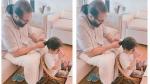 பேத்திக்கு தலைவாரிவிடும் நடிகர் மம்முட்டி.. 'பிக்சர் ஆஃப் தி டே' என கொண்டாடும் ஃபேன்ஸ்!
