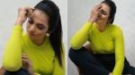 இறுக்கமான  டி-ஷர்ட்டில்..  கும் போஸ் கொடுத்த நடிகை ரம்யா பாண்டியன்!