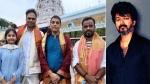 திருப்பதியில் சாமி தரிசனம் செய்த தளபதி 66 படக்குழுவினர்