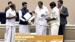 வேட்டி கட்டிய தமிழன் நான்... தேசிய விருது பெற்ற விஜய் சேதுபதி... ஹாப்பி அண்ணாச்சி!