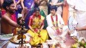 ராகுல் ரவீந்திரனுடன் மணப்பெண் கோலத்தில் ஐஸ்வர்யா ராஜேஷ்.. தீயாய் பரவும் போட்டோ!