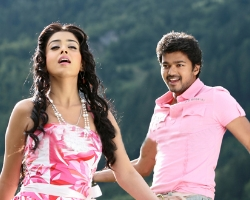 Vijay with Shriya