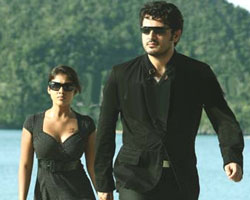Ajith with Nayanatara