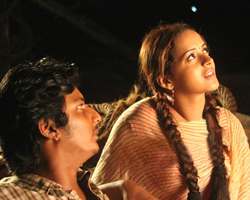 Jeeva with Bhavana in Rameswaram