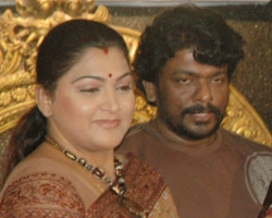 Parthiban with Kushboo