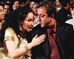 Sanjay Dutt with Manayata
