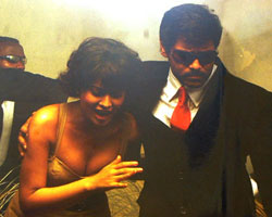 Shriya with Vikram