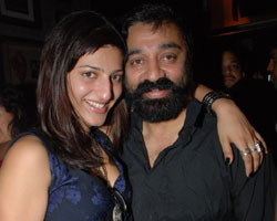 Kamal with daughter Sruthy