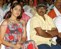 Shamili with Perarasu