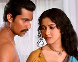 Nandana Sen with Randeep Hood