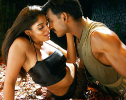 Nayanatara with Vishal