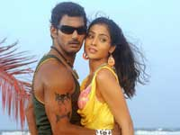 Vishal with Shreya