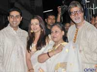 Amitabh Bachan with Family