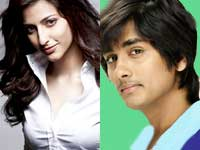 Siddharth and Sruthi Hassan