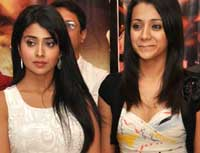Shriya and Trisha