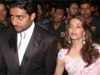 Abishek with Aishwarya Rai