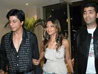 Sharukh, Gauri and Karan