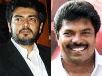 Ajith and Jaguar Thangam