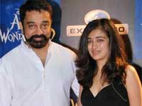 Kamal Hassan and Akshara