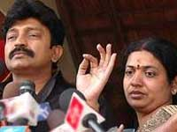 Jeevitha with Rajasekar