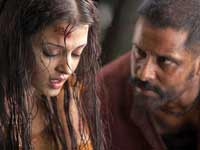 Aishwarya Rai and Vikram