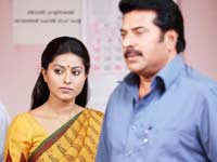 Mammootty and Sneha