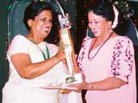 chandrika and Sumithra Peries
