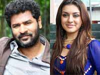 Prabhu Deva and Hansika
