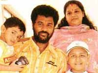 Prabhu Deva and Ramlath Family