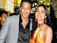 Mahesh Bhupathy and Lara Dutta