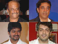 Rajini, Kamal, Vijay and Ajith