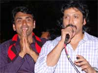 Actor Prashanth campigns for DMK