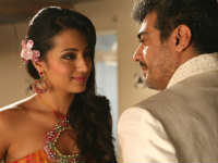 Ajith and Trisha