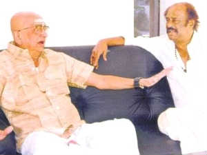 Cho S Ramaswamy and Rajinikanth