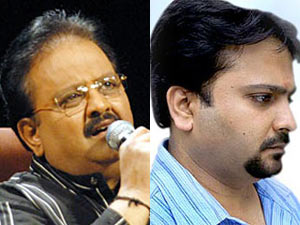 SP Balasubramaniyan and SPB Charan