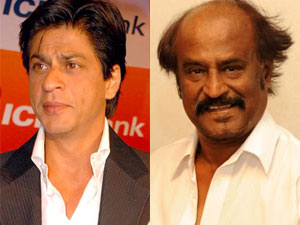 Shahrukh Khan and Rajini