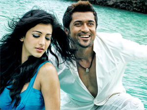 Shruthi Hassan and Surya
