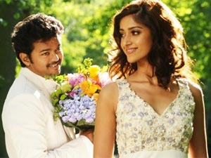 Vijay and Ileana