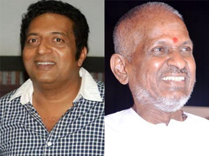 Prakash raj and Ilayaraja